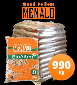 Pellet Bioalten Menalo-990kg